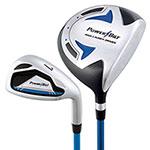 5-8 year old Powerbilt Jr. Golf Set - Blue