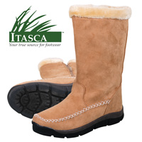 Itasca Women's Sand 11 Inch Micro-Suede Winter Boots