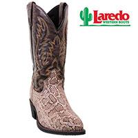 Laredo Snake Print Boots