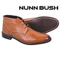 Nunn Bush Men's Cognac Nathanial Chukkas