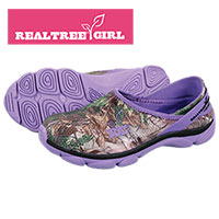 Realtree Girl Women's Purple Slip-Ons