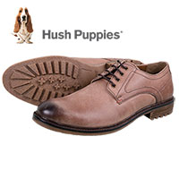 Hush Puppies Men's Tan Rohan Rigby Shoes