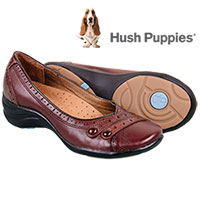 Hush Puppies Women's Brown Burlesque Slip-Ons