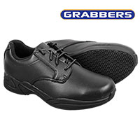 Grabbers Ava Men's Black Oxfords