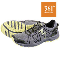 361 Degrees Men's Castlerock Green Trail Shoes