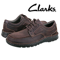 Clarks Men's Brown Vanek Apron Casual Shoes