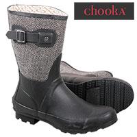 Chooka Women's Black Waterproof Boots