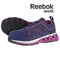 Reebok Women's Purple Carbon Toe Athletic Shoes