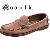 Abbot K Men's Brown Kinney Slip-On Shoes