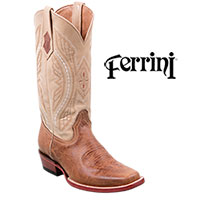 Ferrini Men's Two-Toned Kangaroo Western Boots