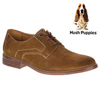 Hush Puppies Men's Tan Glitch Parkview Oxfords