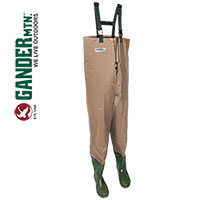 Gander Mountain Men's Tan Chest Waders