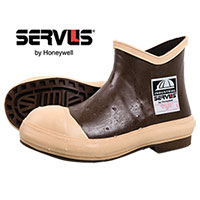 Servus Men's Brown 6 Inch Neoprene Boots