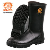 Kings Men's Black Neoprene Boots