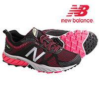 New Balance WT610LB5 Women's Black Pink Zing Running Shoes