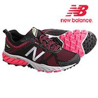 New Balance WT610LB5 Women's Black Pink Zing Running Shoes