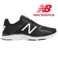New Balance Men's Black Trainer Shoes
