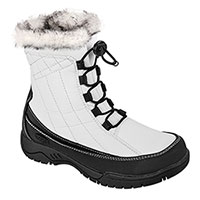 totes Women's White Waterproof Winter Boots