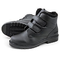 Totes Men's Waterproof Black Winter Boots