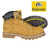 Roadmate Men's Honey Gravel Work Boots