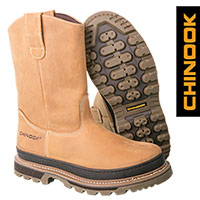 Chinook Rancher Men's Tan Wellington Boots