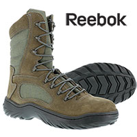 Reebok Men's Steel Toe Sage Green 8 Inch Tactical Boots