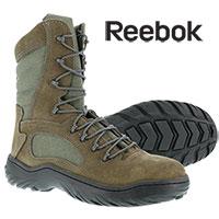 Reebok Men's Steel Toe Sage Green 8 Inch Tactical Boots