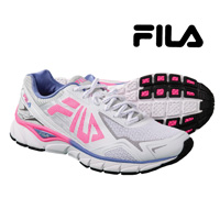 Fila Women's Pink Memory Compexity Running Shoes