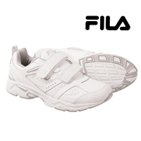 Fila Men's White Memory Capture Strap Shoes