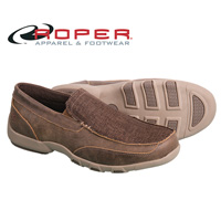 Roper Men's Brown Driving Mocs