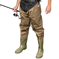 Gander Mountain Brown Hip Waders