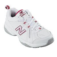 New Balance Women's Pink WX608V4P Trainer Shoes