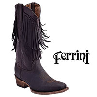 Ferrini Women's Chocolate Desperado Boots