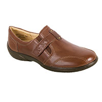 Walking Cradle Women's Tobacco Slip On Shoes