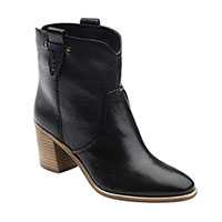 G.H. Bass & Co Women's Black Sophia Ankle Boots