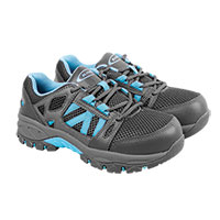 Knapp Women's Charcoal Athletic Work Shoes