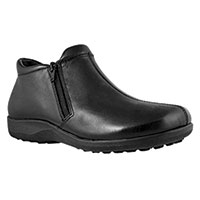 Walking Cradles Women's Black Zip Boots