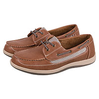 Island Surf Chatham Men's Brown Boat Shoes