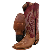 Ferrini Women's Brown Roughrider Boots