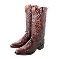 Ferrini Men's Apache Chocolate Brown Boots