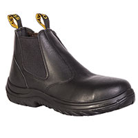Oliver Men's Black Chelsea Pull-On Boots