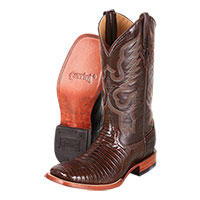Men's Ferrini Teju Lizard S-Toe Boots