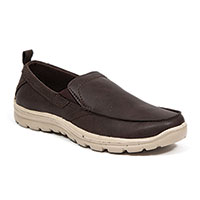 Deer Stags Men's Brown Casual Slip-Ons