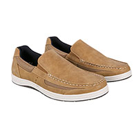 Island Surf Men's Tan Casual Boat Shoes