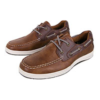 Island Surf Men's Brown Barbasos Casual Shoes
