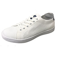 Island Surf Company Men's White Port Shoes