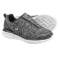 Sketchers Women's Black Synergy 2.0 Scouted Shoes