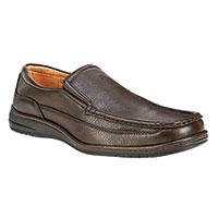Maximus Men's Brown Comfort Slip-Ons