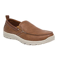 Deer Stags Men's Tan Casual Slip-Ons