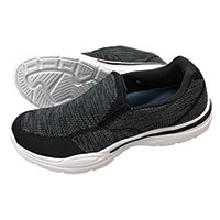 Island Surf Manhattan Black Slip-Ons